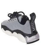 Moschino Laced Mesh Sneakers - Black