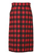 MSGM Skirt - Rosso