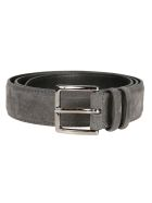 Orciani Buckled Belt - Antracite