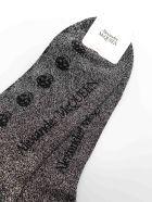 Alexander McQueen Socks Skulls - Black/md Grey