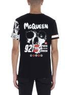 Alexander McQueen 'motorcycle Skull' T-shirt - Multicolor