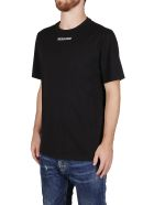 Golden Goose Black Cotton T-shirt - Black