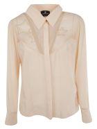 Elisabetta Franchi Celyn B. Elisabetta Franchi For Celyn B. Star Embroidery Shirt - PINK