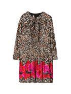 Miss Blumarine Midi Dress - Leopardato
