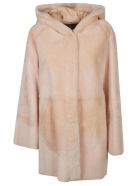DROMe Fur Coat - Beige