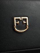 Furla Logo Mini Shoulder Bag - Onyx