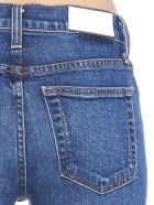 RE/DONE 'kick Flare Crop' Jeans - Blue