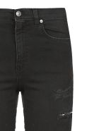 Gaelle Bonheur Ripped Jeans - Nero bianco rosso