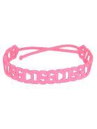 GCDS Gcds Crochet Bracelet - PINK FLUO