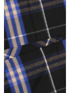 Burberry Giant Check Scarf - BRIGHT COBALT|Blu