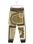 Young Versace 'barocco' Pants - Multicolor