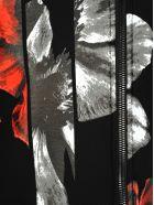 Neil Barrett Crew Neck Full Zip Flowers - Basic