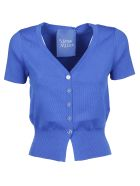 Simon Miller Senoia Fitted Cardigan - Electric Blue