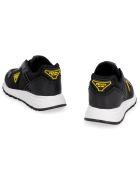 Prada Techno Fabric Low-top Sneakers - black