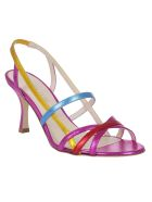 GIA COUTURE Strappy Sandals - Multicolor