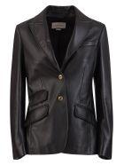 Gucci Plongé Leather Jacket - NERO