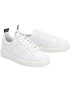 Golden Goose Starter Leather Sneakers - White