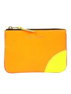 Comme des Garçons Wallet Comme Des Garçons Classic Wallet - Light Orange Pink