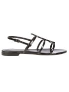 Saint Laurent Cassandra Sandal - Nero