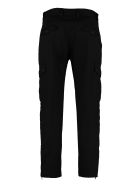 Dolce & Gabbana Stretch Cotton Cargo Trousers - black