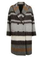 Brunello Cucinelli Coats DOUBLE BREASTED COAT