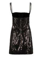 Dsquared2 Sequin Mini-dress - black