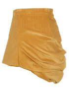 Y/Project Asymettric Skirt - MUSTARD