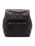 Tory Burch 'fleming' Leather Backpack - Black