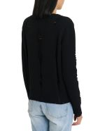 Federica Tosi Ripped Sweater - Nero