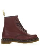 Dr. Martens Cherry Color Leather Army Boots - Cherry