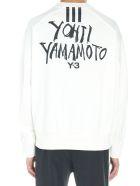 Y-3 'signature Graphic' Sweatshirt - White