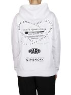 Givenchy Logo Hoodie - White