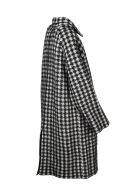 Laneus Pied De Poule Coat - Black