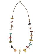 Jessie Western Single Strand Honey Neacklace - Multicolor