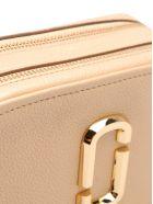 Marc Jacobs 'softshot Pearlized' Leather Shoulder Bag - Gold