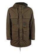 C.P. Company Taylon P Hooded Puffer Jacket - green