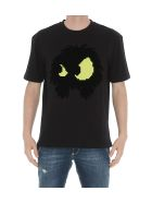 McQ Alexander McQueen Chester Monster T-shirt - Black