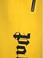 Palm Angels Palm Angels Side Logo Print Joggers - YELLOW