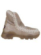 Mou Eskimo Boot Ntain 18 Cm - Stme Stone Metallic