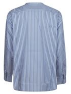 Lanvin Striped Trim Shirt - White