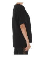 Fendi Fendi Roma Tshirt - Black+black