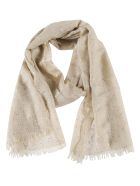 Brunello Cucinelli Sequin Detailed Scarf - Beige