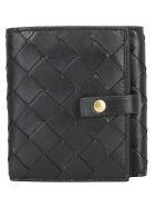 Bottega Veneta Wallet - Nero/gold