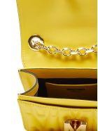 Moschino M Shoulder Bag - Yellow
