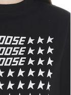 Golden Goose 'golden Flag' T-shirt - Black