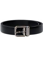 Dolce & Gabbana Leather Belt - black