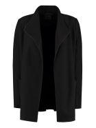 Agnona Cashmere Blazer - black