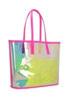 MCM Flo Tote Bag - silver