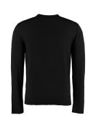 Givenchy Wool Crew-neck Pullover - black
