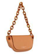 Simon Miller S821 Bend Leather Shoulder Bag - Saddle Brown